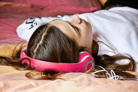 You can listen to relaxing compositions